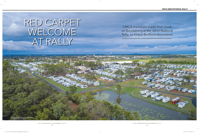 Paradise Motor Homes - Review Red Carpet Welcome at Rally