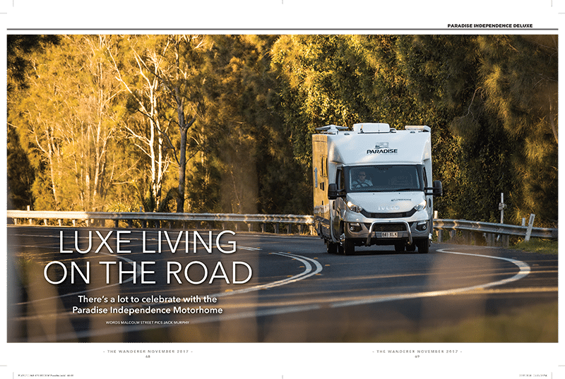 Paradise Motor Homes - Review - Luxe - living on the road