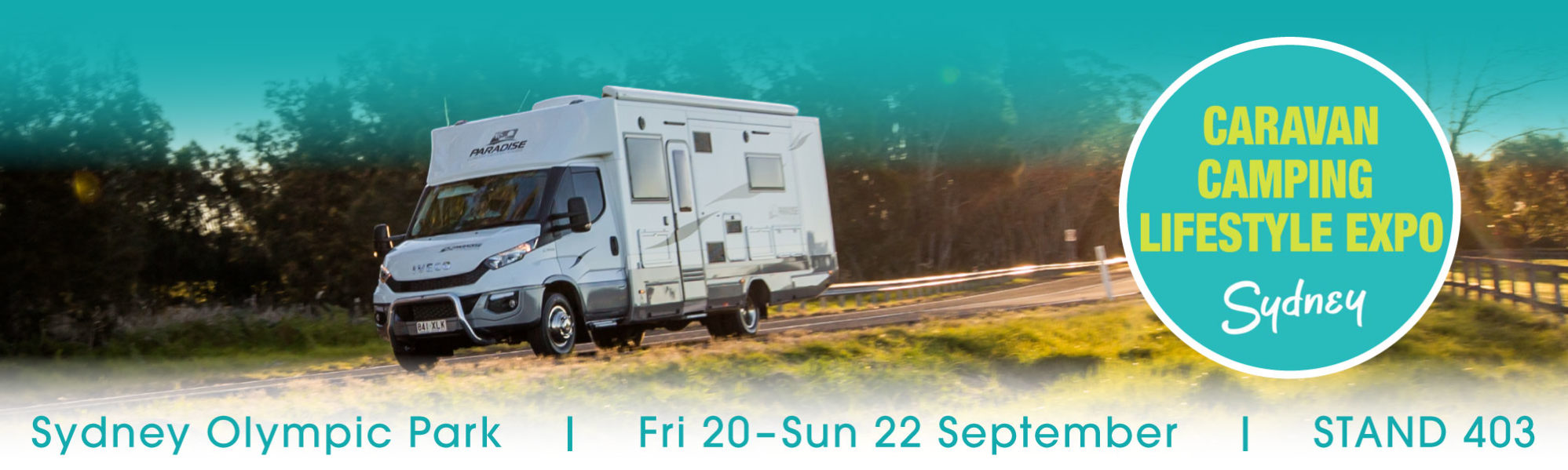 Sydney Expo Paradise Luxury Motor Homes